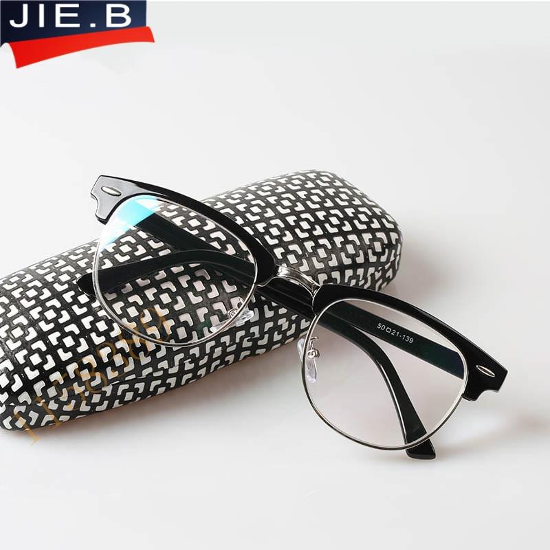2016 Tr90 Lesebrille Männer Marke Designer Brillen Rahmen Schwarz Anti Blau Rays Computerschutzbrillen Dioptrien Gläser Frauen Oculos äRger LöSchen Und Durst LöSchen