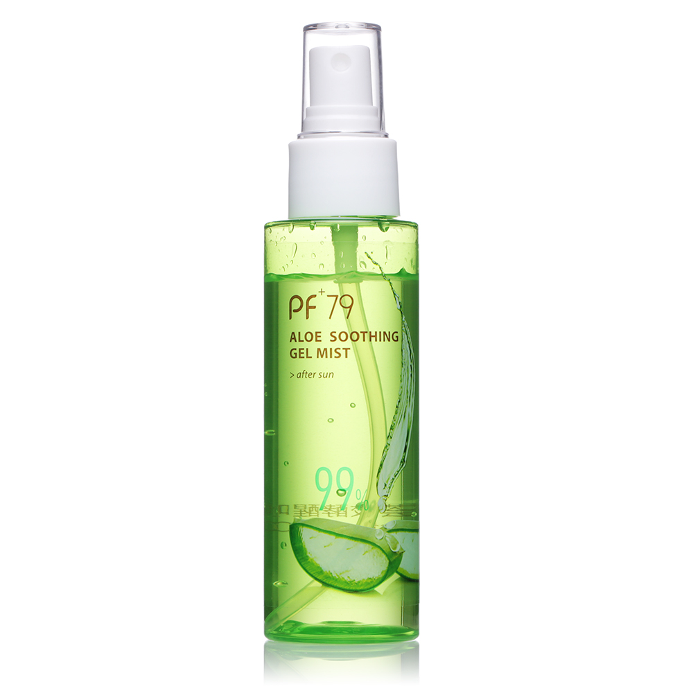 PF79 face moisturiser organic aloe soothing spray gel mist