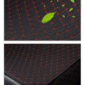 Image 5 - 1 מושב מכונית פשתן כיסוי מושב עם משענת מושב רכב כרית מגן כרית Mat אוטומטי קדמי רכב סטיילינג פנים
