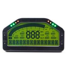Universal Dash Race Display Gauge SENSOR KIT Dashboard LCD Screen Waterproof 9000rpm Rally