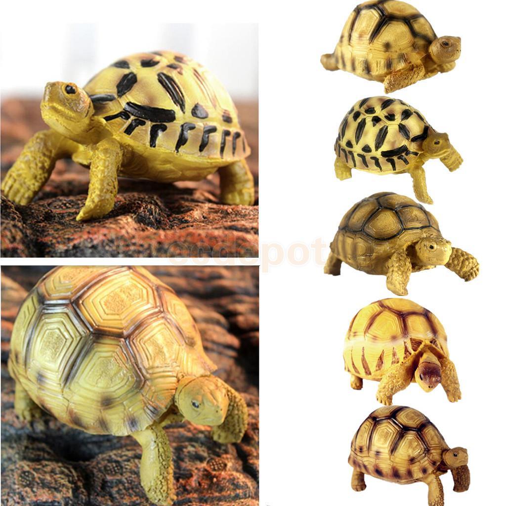 Harz Schildkröte Lebensechte Schildkröte Simulierte Reptil Geformt Decor Tier Sammlung
