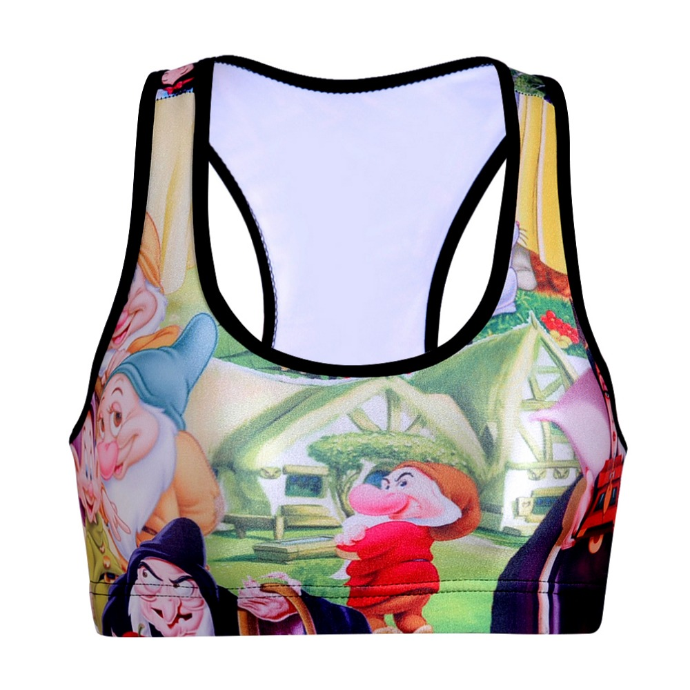 1a7b86604bfc8 Buy cartoon fitness top and get free shipping on AliExpress.com