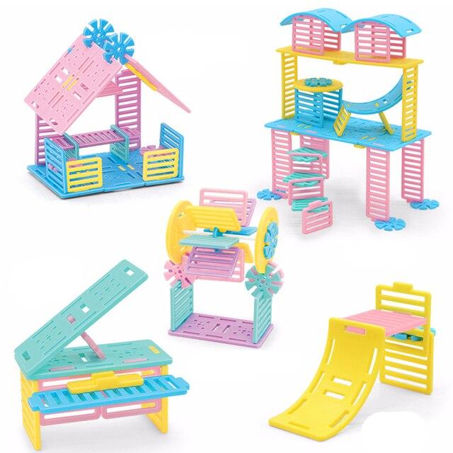 Creative Amazing Model Diy Assembled Bricks Blocks Toys Miniature