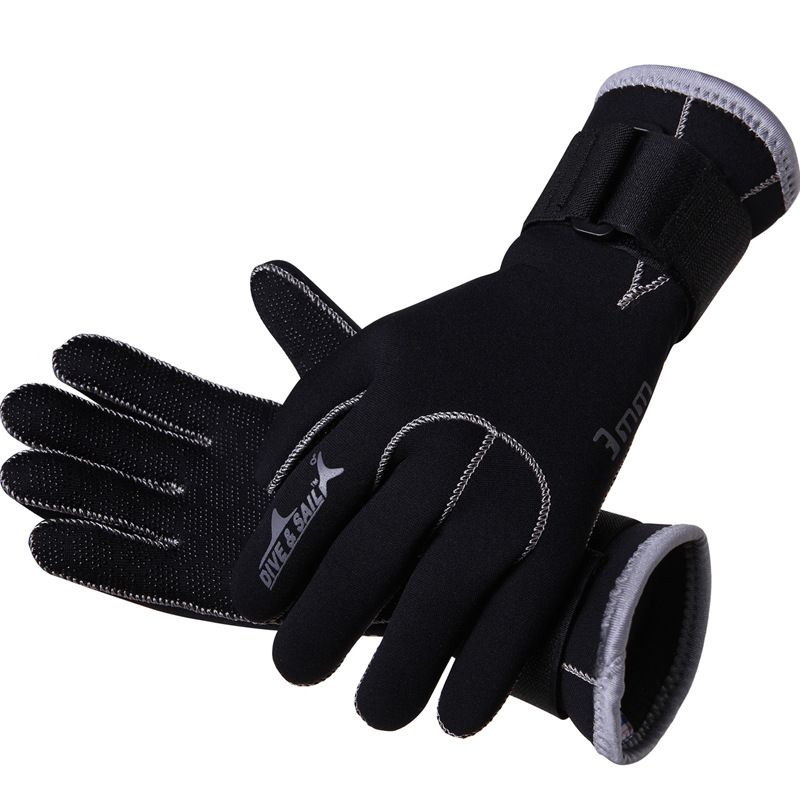 3MM Neoprene Non Slip Warm Dive Snorkel Gloves Underwater Scuba Swimming Diving Sailing Equipment 2017 CO