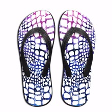 Noisydesigns Multi-warna leopard zebra pola Pria kustom sandal jepit Sandal Merek Sandal Lantai Tahan Lama Laki-laki Ringan