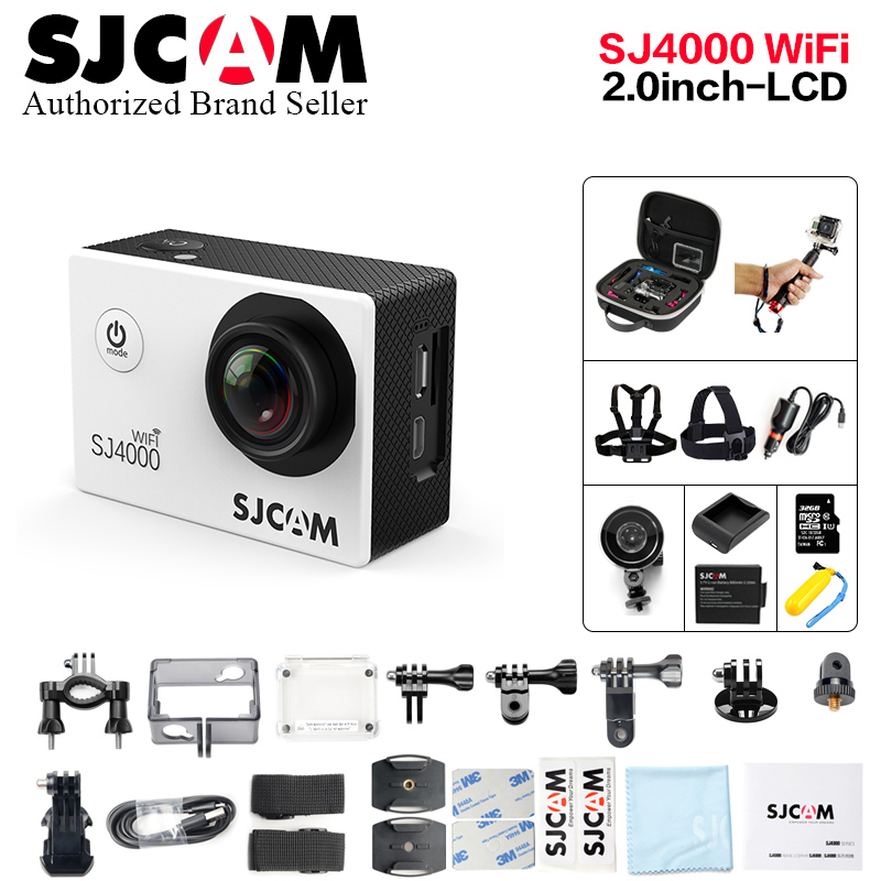 2018 Original SJCAM SJ4000 Wifi / SJ4000 2.0 LCD Screen Action Camera Upgrade SJ CAM 4000 Series 30m Waterproof Mini Sport DV