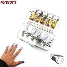 Forma Unhas Posticas стальные формы для дизайна ногтей, Маникюрный Инструмент, расширительные наборы, защита для симпатичного УФ-геля, акриловая Форма для скульптуры