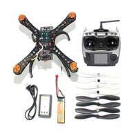Kit complet bricolage Mini Drone de course 310 cadre en fibre de verre Racer hélicoptère MICRO F3 contrôleur de vol AT9S FS i6 émetteur F14891 H