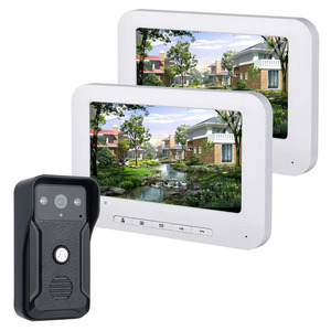 Image 5 - Yobang Security 7 inch Colour LCD Video Intercom Doorbell Door Phone System Kit With Waterproof Digital Doorbell Camera Viewer