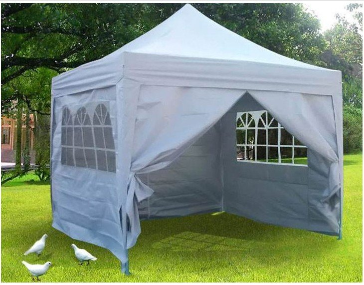 Stock in US 10x10' EZ Pop Up Canopy Gazebo Party Wedding ...