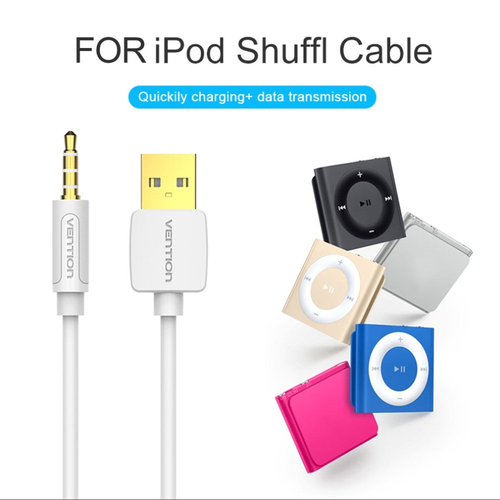 Vention Lightweight USB Charging Cable Pure Copper Fast Data Sync Charging Cable Suitable For iPod Shuffle