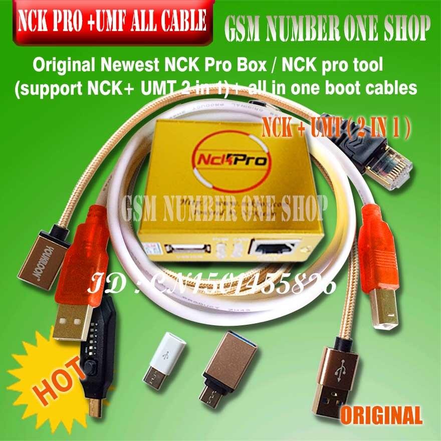 Nouvelle boîte NCK Pro d'origine/boîte NCK (support NCK + UMT 2 en 1) nouvelle mise à jour pour les câbles Huawei + 15