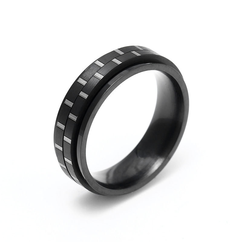 Black-Color-Male-Jewelry-engagement-ring