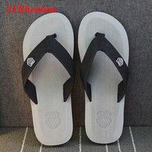 JYRhenium Summer Men Slippers Flip Flops Beach Sandals Anti-slip Zapatos Hombre Outdoor Shoes Women Drop Shipping