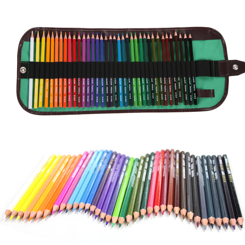 36 Colors Drawing Pencil Set Non-toxic Colored Pencils with Case Wax Pencils for Art School Stationery Christmas Gifts 2