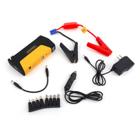 2017 New Multifunctional Portable Cars Auto Emergency Start Car Jump Starter Power Bank With Three Lights