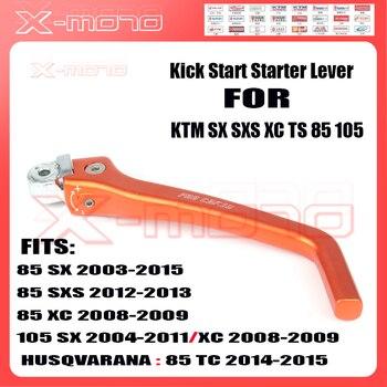 Motorcycle Forged Kick Start Starter Lever Pedal For KTM SX SXS XC TS 85 105 Dirt Bike MX Motocross Free shipping