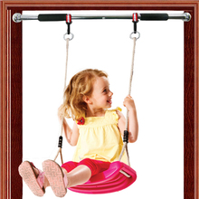 Lanyard overstretches 12mm platebending swing child swing hanging chair single outdoor toys Indoor Strap Swing(China)