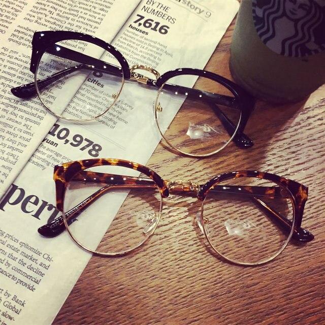156fb2502cce1 Montura De gafas 2018 antifatiga ojos De gato gafas De mujer marcos transparentes  Oculos De Grau