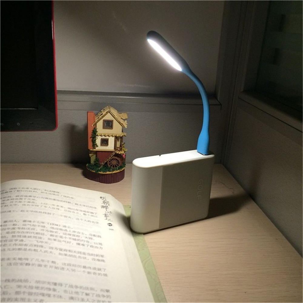 FFFAS Table Lamp For Power bank PC Mini Flexible USB Led USB Light
