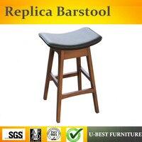 Бесплатная доставка U лучший Европейский стиль ретро табурет, спереди стол стул, современный минималистский барный стул