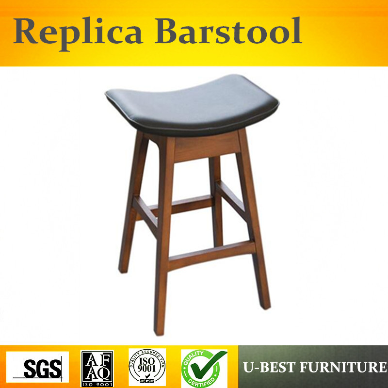 Free Shipping U-BEST European Style Retro Barstool, Front Desk Stool, Modern Minimalist Bar Chair