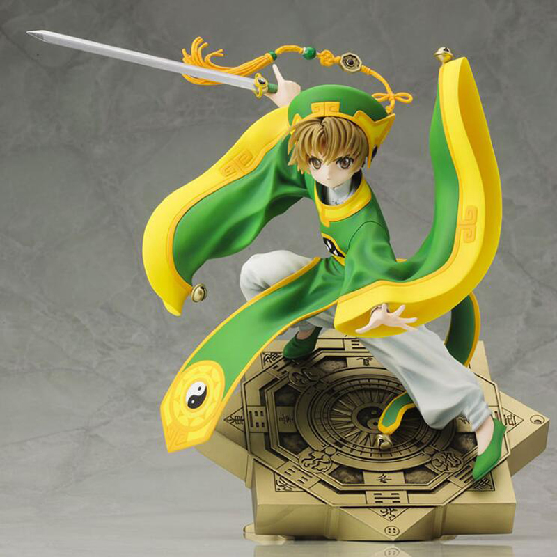 Cardcaptor Sakura Li Syaoran Ation Anime figure toys 20cm collection with box model toy dolls Christmas gift cardcaptor sakura kinomoto sakura clear card version 19cm anime model figure collection decoration toy gift