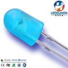 5mm blue oval led di...