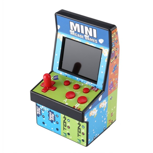 ONLENY 200 In 1 Mini Arcade Handheld 8 NES Single Rocker Game Console Children's Gift