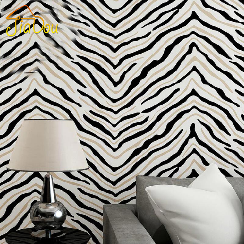 Zebra Wallpaper For Bedrooms Online Buy Wholesale z...