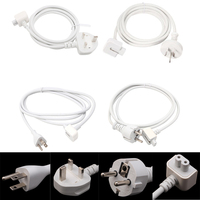 Power Extension Cable Cord For Apple MacBook Pro Air AC Wall Charger Adapter