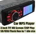 3 ''polegadas TFT screen HD On-board't um MP5 & Carro MP4 máquina de cartão de jogador & Usb & Fm transmissor de áudio Do Carro Mp5 player & Rádios jogador