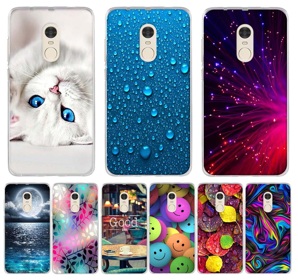 For Fundas Xiaomi <font><b>Redmi</b></font> <font><b>Note</b></font> 4 <font><b>4X</b></font> <font><b>Case</b></font> Cute <font><b>TPU</b></font> Soft Phone Back Cover Silicone <font><b>Case</b></font> For <font><b>Xiomi</b></font> <font><b>Redmi</b></font> <font><b>Note</b></font> 4 X Coque Bumper Capas image