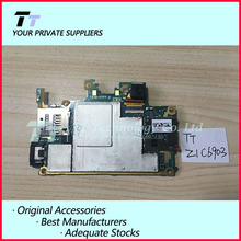 Original Unlocked Working For Sony Xperia Z1 C6903 LTE Mainboard Motherboard Logic Board With Chips Free shipping