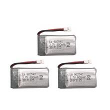 3 pces 3.7v 800mah 25c zangão li-polímero bateria 902540 para rc syma x5c x5sc x5sw x5hc mjx x708w quadcopter aeronave brinquedo