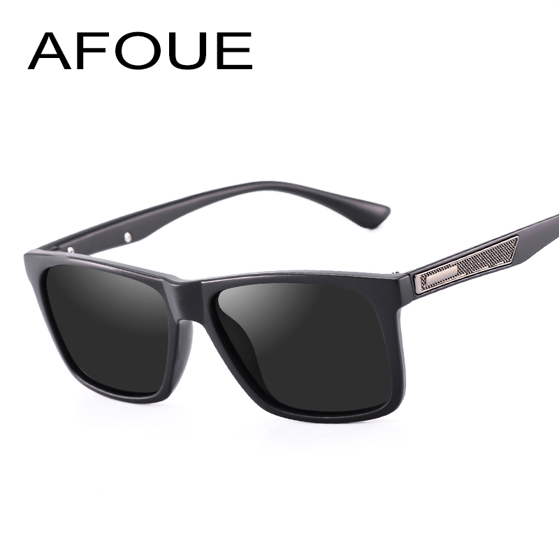 AFOUE 2017 Classic Men Original Brand Designer Polarized Sunglasses Vintage Sun Glasses UV400 Driver Fashion Retro Male Sunglass
