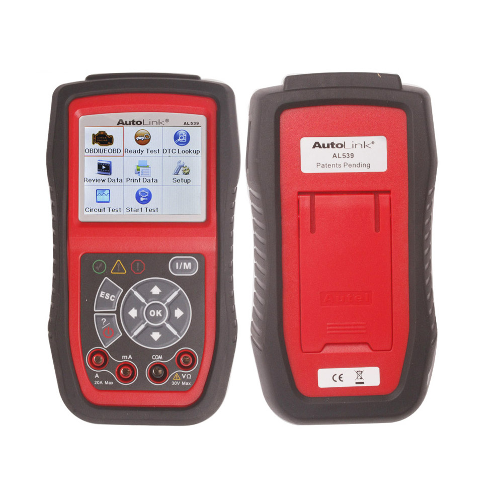 Autel AutoLink AL539 NEXT GENERATION OBDII+Electrical Test Tool Auto Link AL 539 Super scanner
