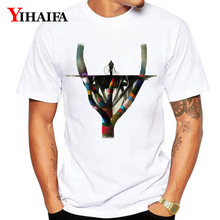 Summer Newest T-Shirt Men Women 3D Print Colorful Branches Tree Graphic Tees Casual White Tee Shirts Unisex Tops стоимость