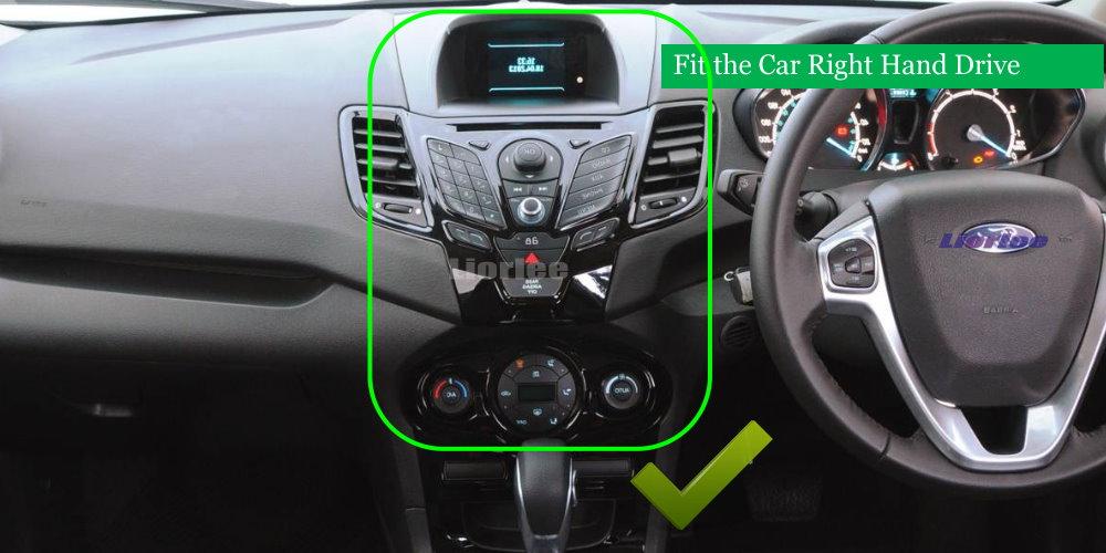 2014-2016 Ford Fiesta ST Dashboard Dash Wiring Harness