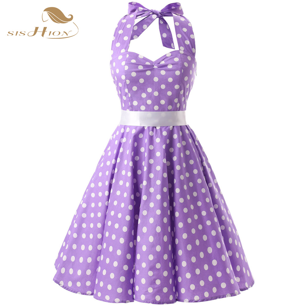 Online Get Cheap Purple Polka Dot Dress -Aliexpress.com | Alibaba ...