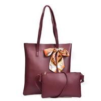 Antbook Women Composite Bags Pu Leather Large Capacity Handbags Female Solid Small Shoulder Bags Women Wallets
