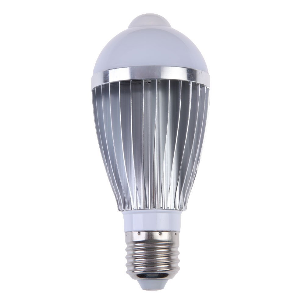 BIFI-7W LED bulb with human presence sensor E27 base Wireless light bulb (warm color)