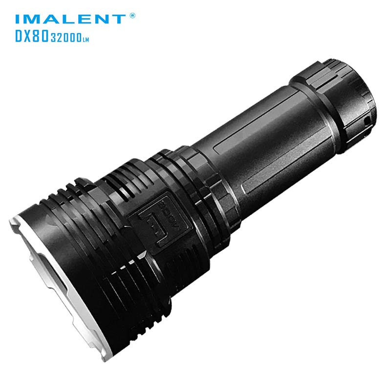IMALENT DX80 8xCREE XHP70 32000 Lumens High Performance Outdoor Search Light Direct Rech ...