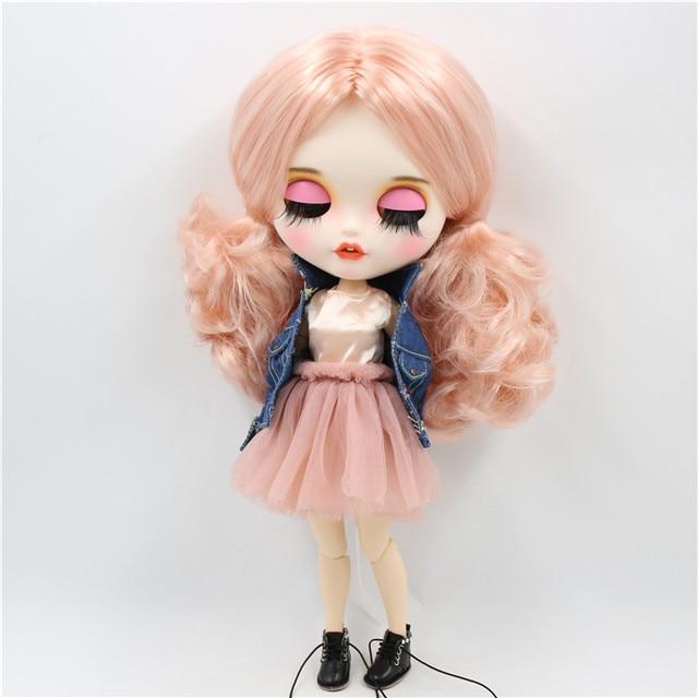 Jovita – Premium Custom Blythe Doll with Smiley Face 1