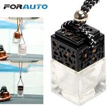 Lege Glazen Fles Auto Opknoping Parfum Achteruitkijkspiegel Ornament Luchtverfrisser Voor Essentiële Oliën Diffuser Geur Auto Styling