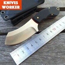 LDT Fixed Knives 9Cr18Mov Blade G10 Handle Hunting Straight Knife Pocket Camping Survival Knife KYDEX Sheath Tools EDC OEM