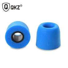 Memory Foam Earphone tips 10 pcs QKZ Original 5 Pairs Colors T400 foam tips Ear Pads for all in ear earphone headset headphone