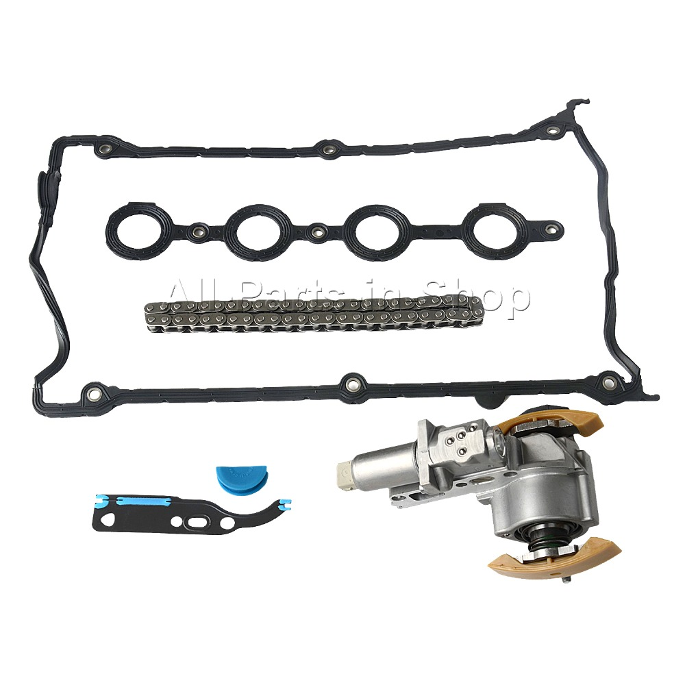 1 x Package Timing Chain Tensioner Chain Valve Cover for Audi Seat Skoda VW 1 8L