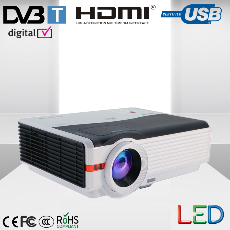 Led Projector 3500 Lumens Beamer 1280 800 Lcd Projector Tv: 1280*800 Native Resolution Projector 5000Lumens Led Indoor