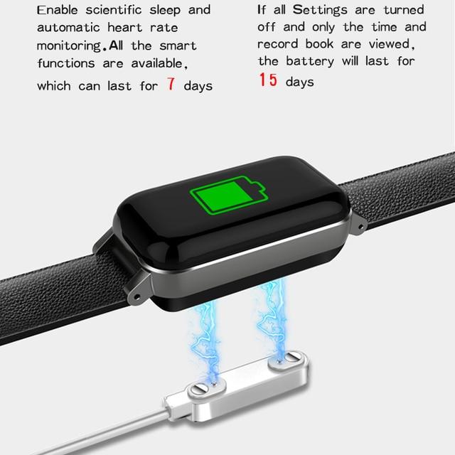 T89 TWS Smart Binaural Bluetooth Headphones Fitness Bracelet Heart Rate Monitor Smart Wristband 1